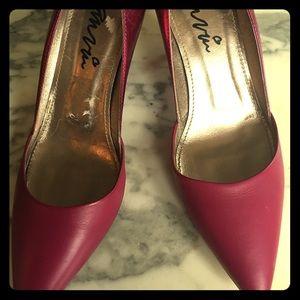 Lanvin heels magenta size 39